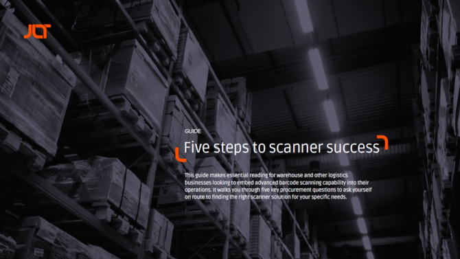 Five steps to scanner success guide front cover